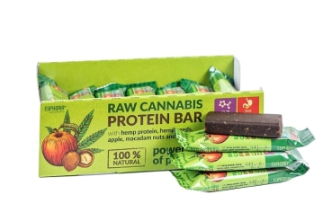 Cannabis Protein Bar Apple - Macadamia 50g