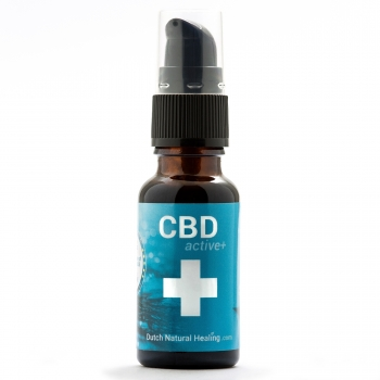 20ml CBDactive+ mit Pumpdosierung 4% (800mg) Dutch Natural Healing