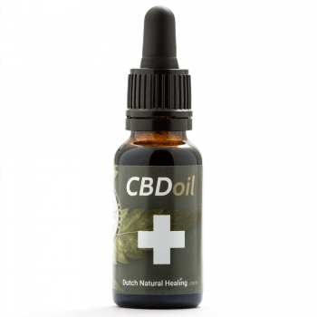 20ml Vollspektrum CBD-Öl Tropfen 8% (1600mg) Naturgeschmack Dutch Natural Healing
