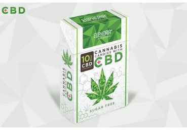30g CBD sweets with 10mg CBD (per pack) Euphoria Trade