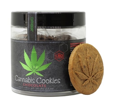 110g Cannabis Cookies Chocolate with CBD