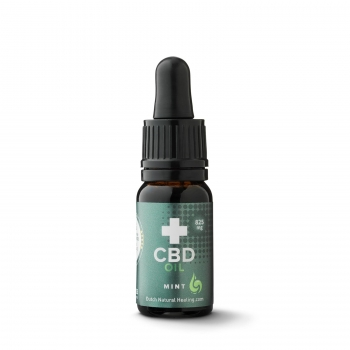 10ml 8% (800 mg) full spectrum CBD oil mint flavor - Dutch Natural Healing