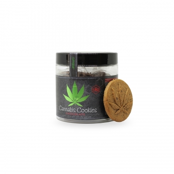 110g Cannabis Cookies Chocolate mit CBD