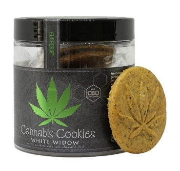 110g Cannabis Cookies White Widow with CBD