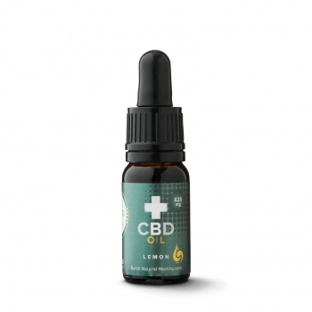 10ml 8% (800 mg) full spectrum CBD oil lemon flavor - Dutch Natural Healing