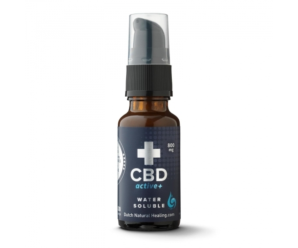 20ml 4% CBDactive+ & Curcumin - Dutch Natural Healing