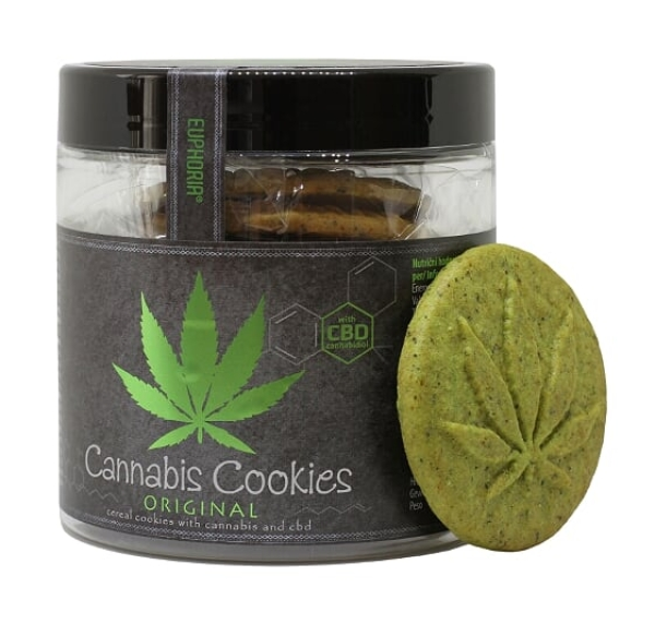 110g Cannabis Cookies Original with CBD